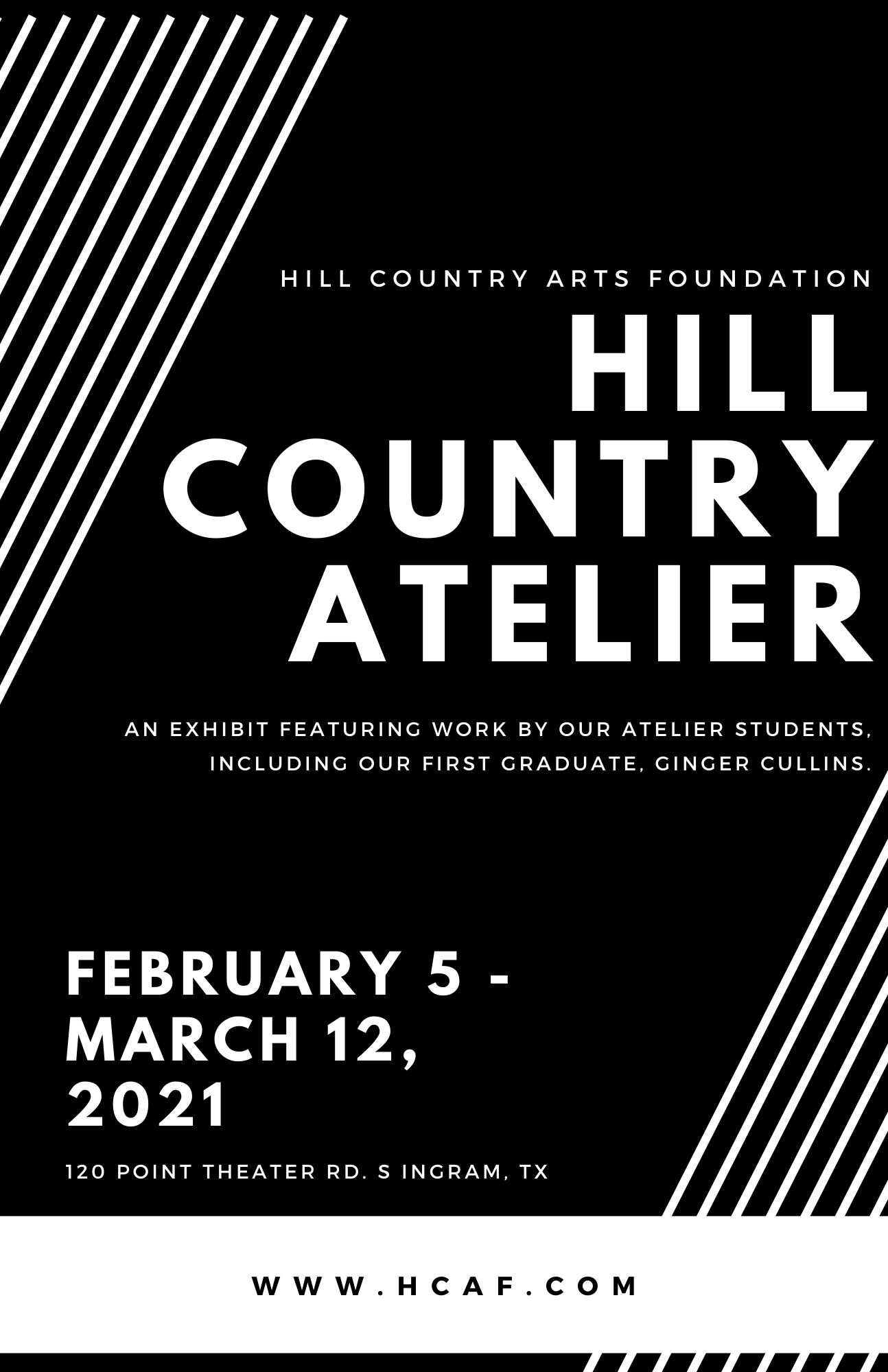 Hill Country Atelier Poster