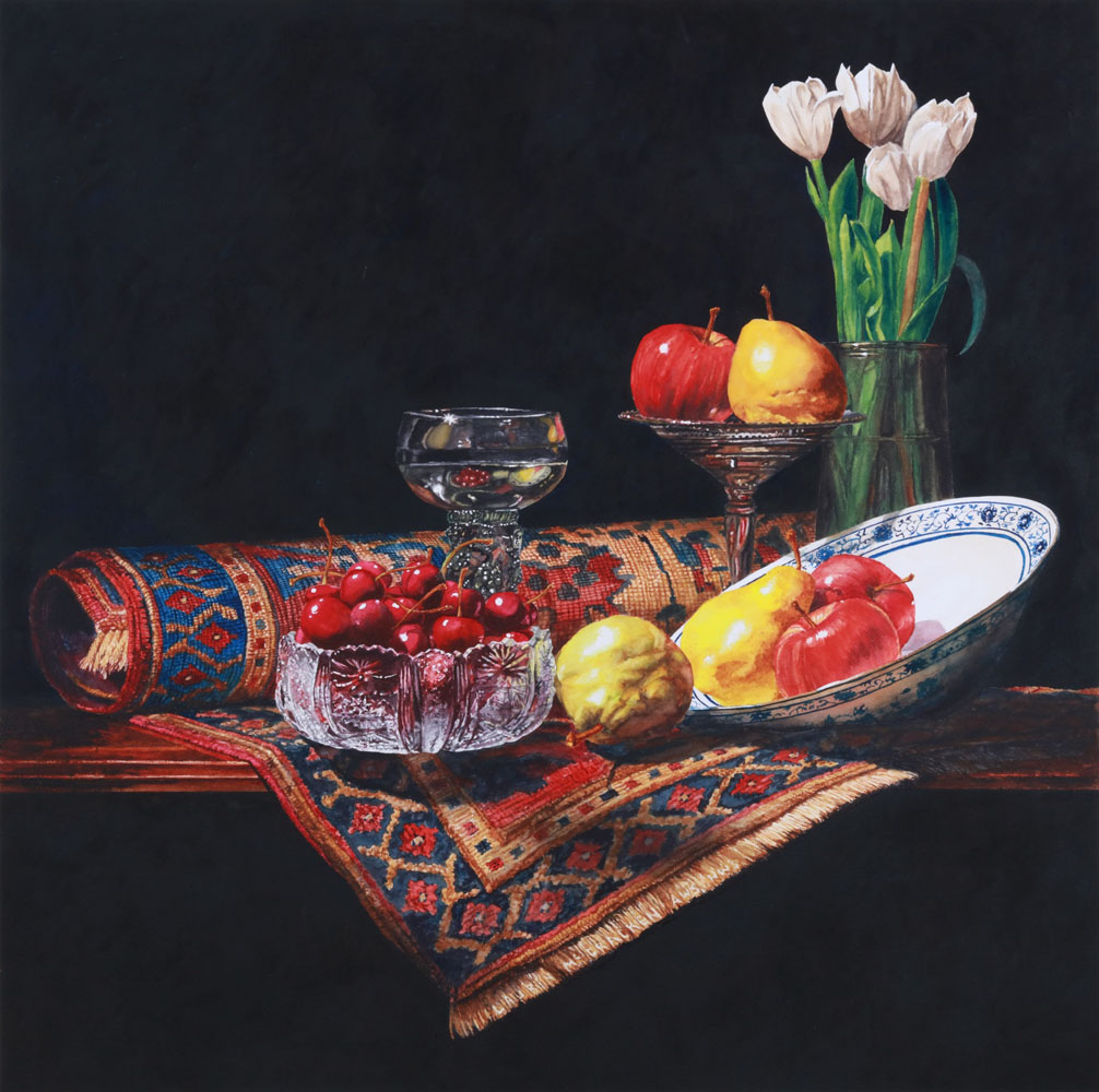 Laurin McCracken Still Life on Hand - Rug